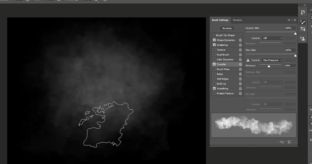 How To Create Realistic Fog/Smoke Brush in Photoshop - RetutStudio